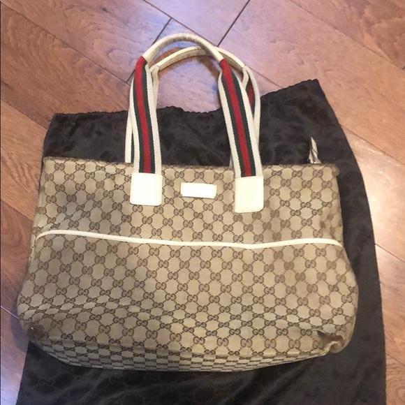 b4c3aea11 Gucci Bags | Authentic Diaper Bag | Poshmark